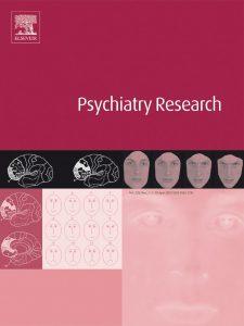 Portada revista Psychitry Research.